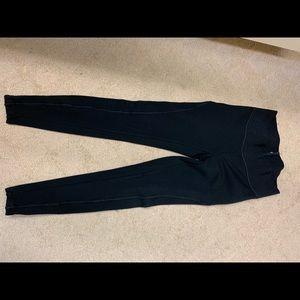 Ann Taylor loft - side zipper leggings